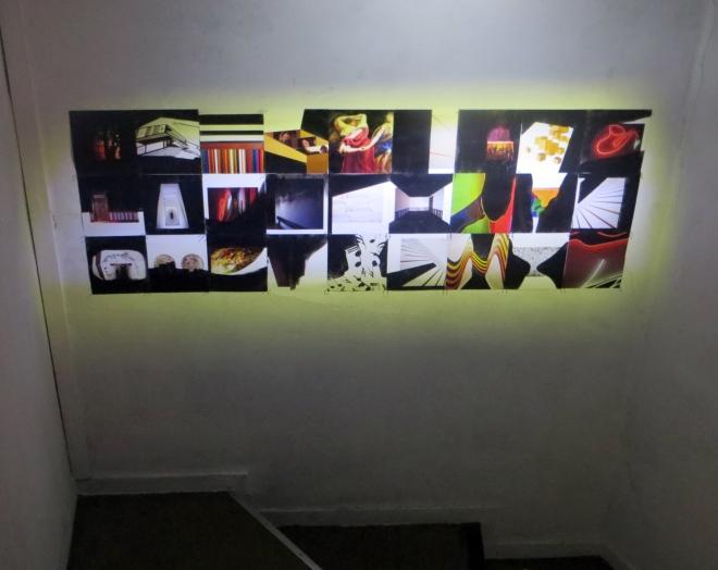 MEMÓRIAS DISSIPADAS COLETIVO LAB Intervenção com tinta acrílica preta sobre páginas do livro Memórias Coletivas Singulares. 2013